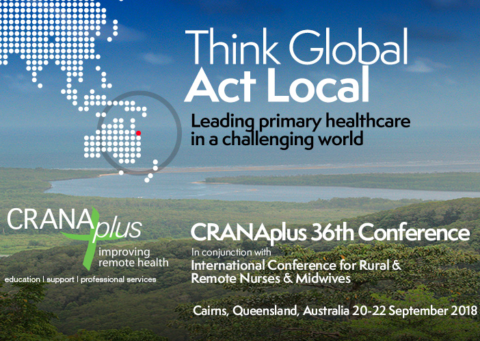 CranaPlus Conference & International Conference for Rural, Remote Nurses & Midwives in Queensland