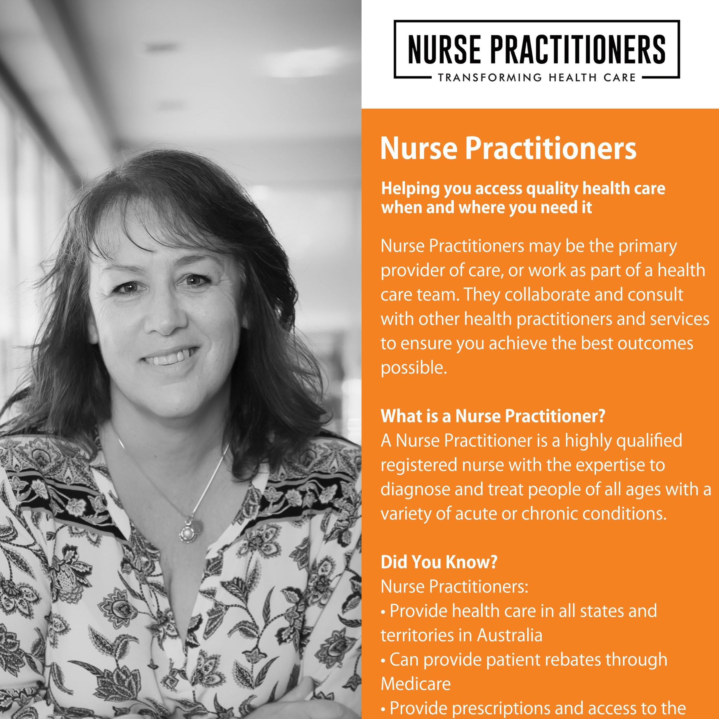 Nurse Practitioner A4 POSTER
