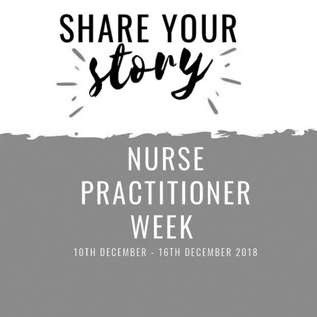 Nurse Practitioner Week 2018 Share Your Story!