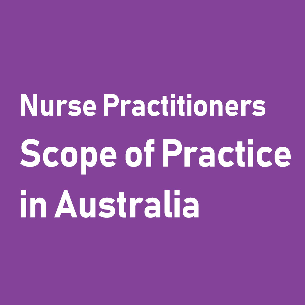 Nurse Practitioner's Scope of Practice in Australia